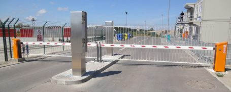 EMS Barriers, Access posts and barrier skirts