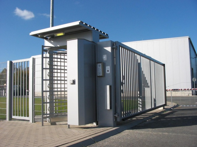 DKE Single Turnstile and Pedestrian Gate