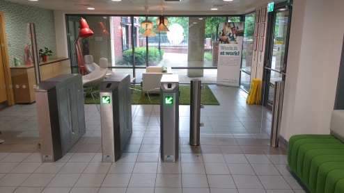 EMS MPR half height turnstiles