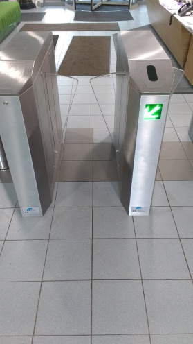 EMS MPR half height turnstile