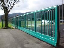 Zabag Kombi Cantilevered Sliding Gate